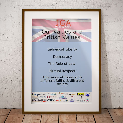 British Values Poster thumbnail